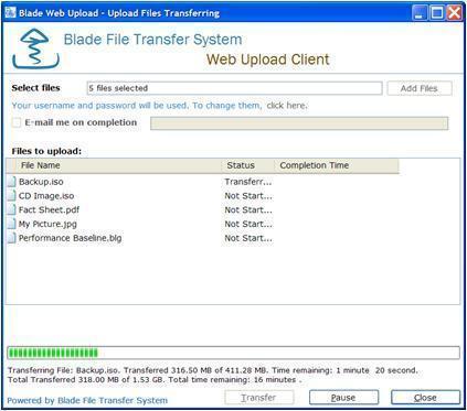 Blade Web Client