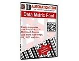 DataMatrix Barcode Font e Encoder