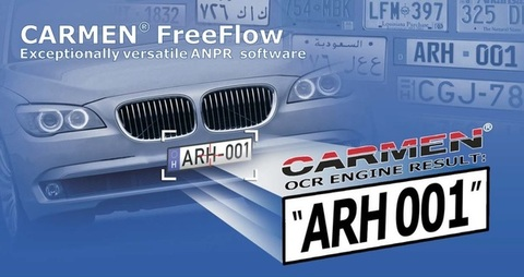 CARMEN Freeflow Licence Plate Recognition Engine