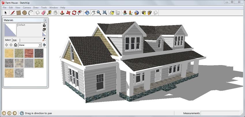Sketchup pro compre agora na for Programa para construir casas 3d