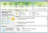CloudBerry Backup Server - Tela inicial