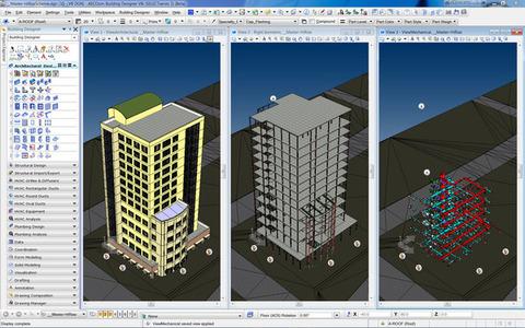 AECOsim Building Designer - Visualização