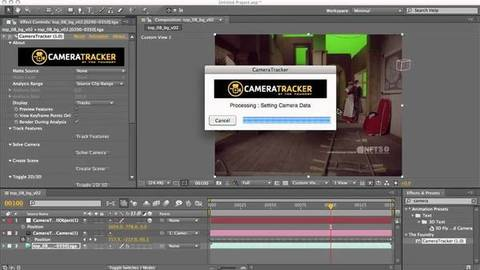 CameraTracker - Processamento