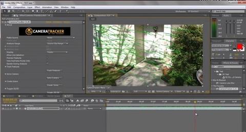 CameraTracker - Montagem