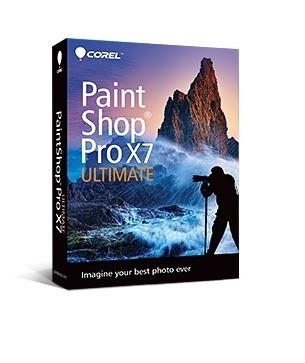 PaintShop Pro X7 - Caixa