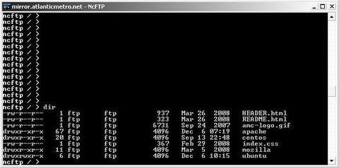 NcFTPd - Informações