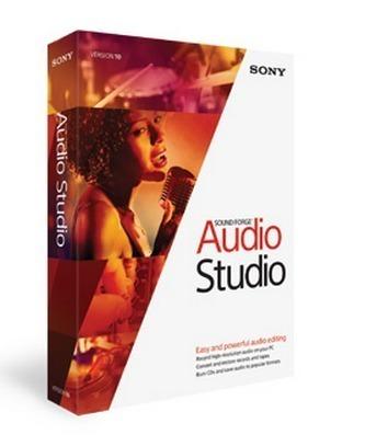 Sound Forge Audio Studio - Box