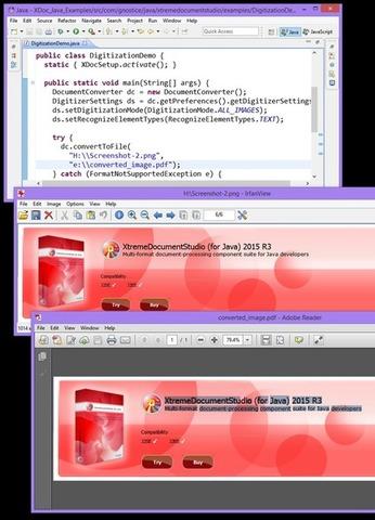 XtremeDocumentStudio for Java - Exemplos
