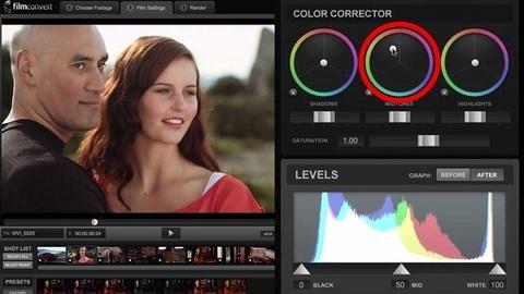 FilmConvert Pro - Edição de cores