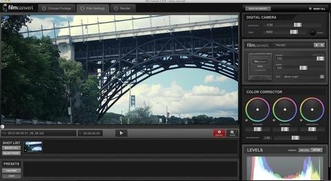 FilmConvert Pro - Correção de cor