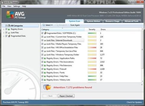 PC TuneUp - Processos