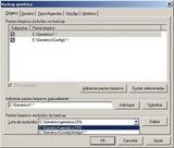 S.O.S Backup DB Express - Opções
