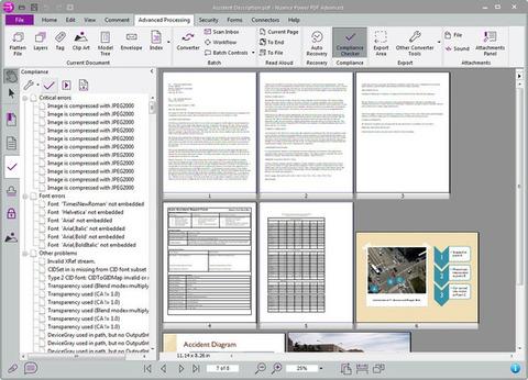 Nuance Power PDF - Várias páginas