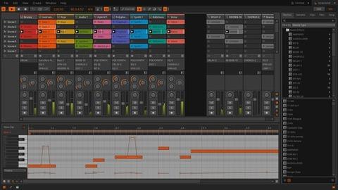 Bitwig Studio - Controles