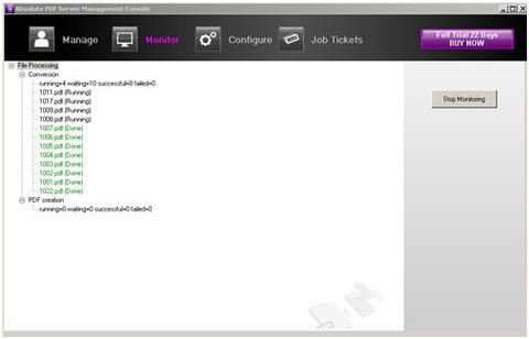 Absolute PDF Server - Informações