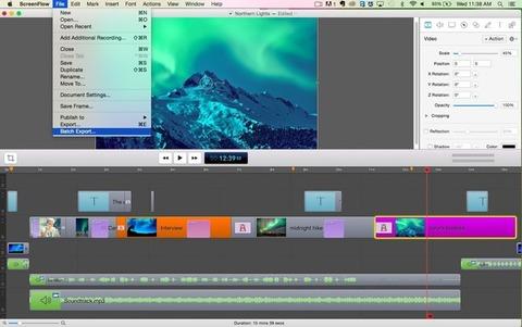 ScreenFlow - Edição