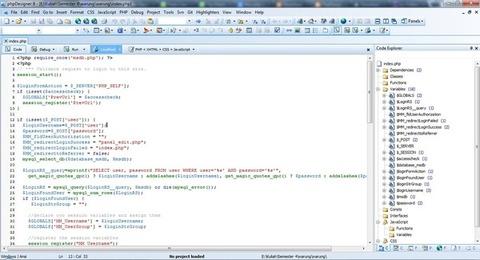 phpDesigner - Desenvolvimento