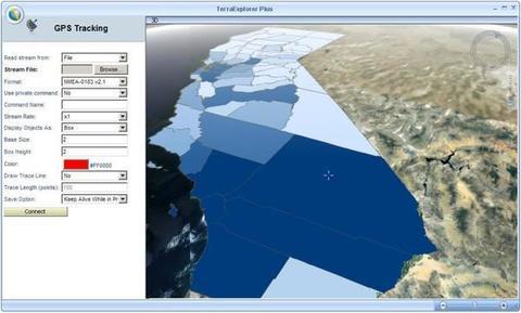 TerraExplorer Plus - Escala global