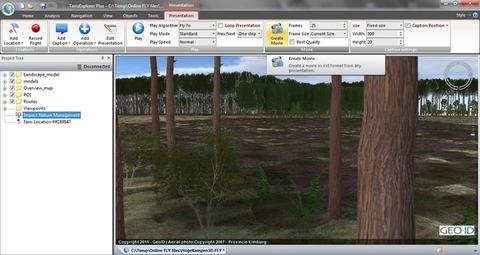 TerraExplorer Plus - Visualização