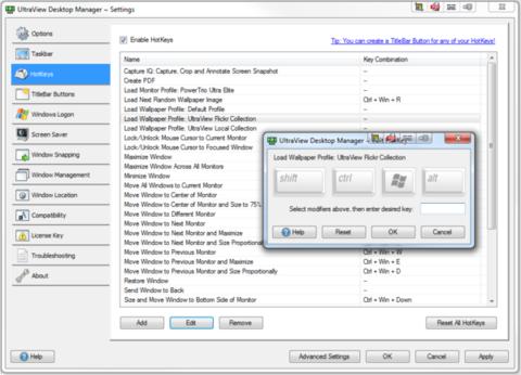 UltraView Desktop Manager