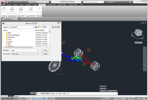 3D PDF Exporter for AutoCAD