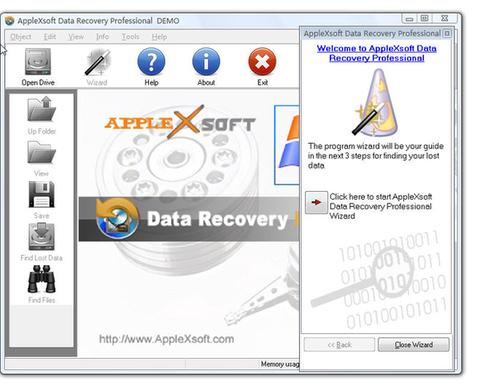 AppleXsoft Data Recovery Professional